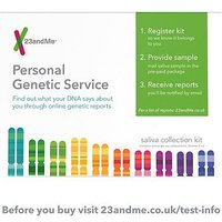 23andMe Health + Ancestry Personal Genetic Service: DNA Kit