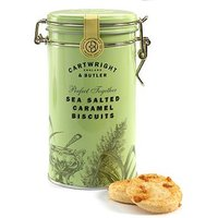 Cartwright & Butler Salted Caramel Biscuits Tin