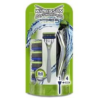 Image of Wilkinson Sword Hydro 5 Sensitive Razor with 5 Blades