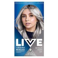 Schwarzkopf LIVE Metallic Silver U71 Permanent Hair Dye