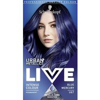 Schwarzkopf LIVE Blue Mercury U67 Permanent Hair Dye