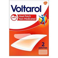 Voltarol Non Medicated Pain Relief Patches Heat Patch 2s