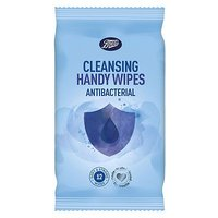 Boots Cleansing Handy Wipes Anti-bacterial 12s