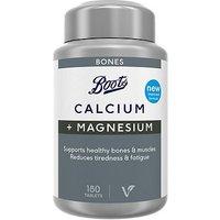 Boots Calcium & Magnesium - 180 Tablets