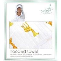 aden by aden + anais Hooded Towel - Safari Babies