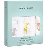 aden + anais essentials Muslin Square 5 Pack - Safari Babies