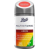 Boots Multivitamins With Iron (180 Tablets)