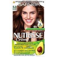 Garnier Nutrisse 5.3 Golden Brown Permanent Hair Dye