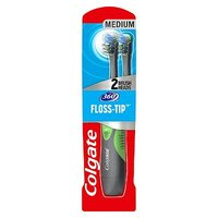 Colgate 360 Floss Tip 2 Head Battery Toothbrush