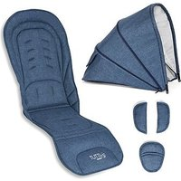 Tutti Bambini Carrycot Colour Pack - Midnight Blue
