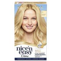 Clairol Nicen Easy Crme Oil Infused Permanent Hair Dye 11 Ultra Light Blonde 177ml