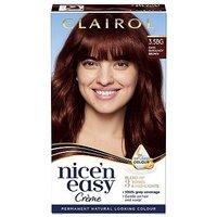 Clairol Nicen Easy Crme Oil Infused Permanent Hair Dye 3.5BG Dark Burgundy Brown 177ml
