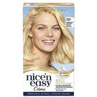 Clairol Nicen Easy Crme Oil Infused Permanent Hair Dye SB1 Light Natural Beach Blonde 177ml