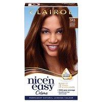 Clairol Nicen Easy Crme Oil Infused Permanent Hair Dye 5RB Medium Reddish Brown 177ml