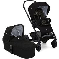 Joie Chrome DLX Pushchair and Carrycot - Dots