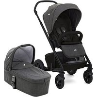 Joie Chrome DLX Pushchair and Carrycot - Pavement