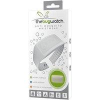 Adult Bug Watch Anti-Mosquito White Wrist Band