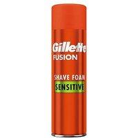 Gillette Fusion5 Ultra Sensitive Shave Foam 250ml