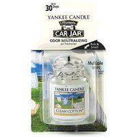 'Yankee Candle Classic - Car Jar Ultimate Clean Cotton