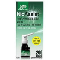 Boots Nicassist 1mg/spray Mouth Spray 17.2ml