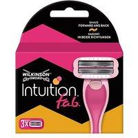 Wilkinson Sword Intuition f a b  Women s Razor Blades x3