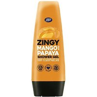 'Boots Zingy Juicy Mango & Papaya Shower Gel 250ml