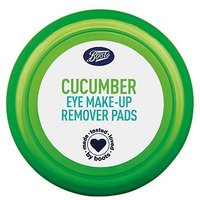 Boots Cucumber Eye Make-up Remover Pads 40s