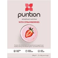 Purition Wholefood Nutrition 7 day pack - Strawberry (7 x 40g servings)