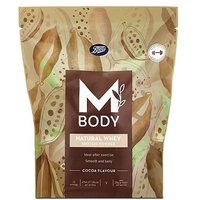 Mbody Natural Whey Protein Powder Cocoa Flavour   400g