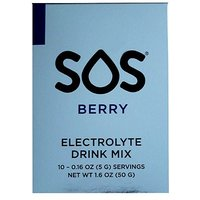 SOS Berry Electrolyte Drink Mix -10 Servings
