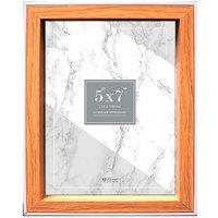 Anker white edged photo frame 5x7