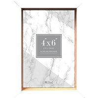 Anker white front photo frame 4x6