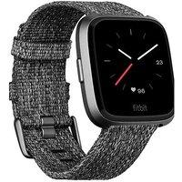 Fitbit Versa Special Edition Charcoal Woven/graphite Aluminium