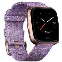 Fitbit Versa Special Edition Lavender Woven/rose Gold Aluminium
