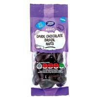 Boots Nibbles Dark Chocolate Brazil Nuts 150g