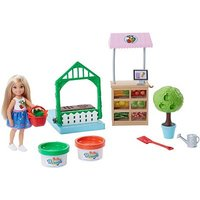 Image of Barbie Club Chelsea Doll and Veggie Garden