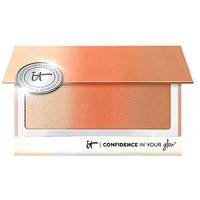 IT Cosmetics Confidence in Your Glow 3-in-1 Blusher Bronzer and Highlighter Instant Natural Glow