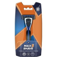 Boots Max Shave 5 Blade System Razor   Trimmer