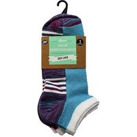 Boots Cotton Textured Liner 3pp