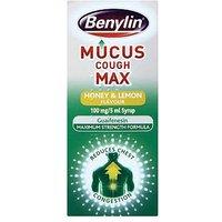 Benylin Mucus Cough Max Syrup - Honey & Lemon - 150ml