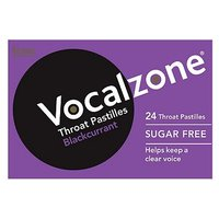Vocalzone Throat Pastilles Blackcurrant - 24 Pastilles