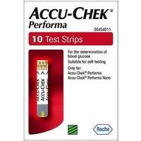 Accu-Chek Performa 10 Test Strips
