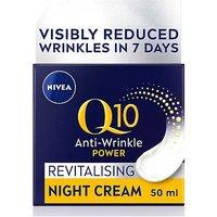 Image of NIVEA Q10 Power Anti-Wrinkle + Firming Night Cream 50ml