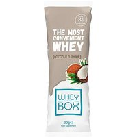 Whey Box The Most Convenient Whey Coconut Flavour Protein 20g