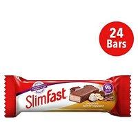 SlimFast Chocolate Nutty Nougat Snack Bar 25g x 24 Bars