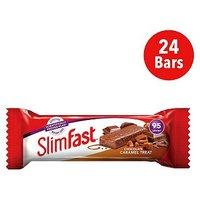 SlimFast Chocolate Caramel Treat Snack Bar 26g x 24