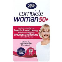 Boots Complete Woman 50+ 30 Tablets
