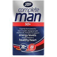 Boots Complete Man 50+ 30 Tablets