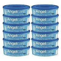 Angelcare Nappy Disposal System Refill Cassettes 12 Pack