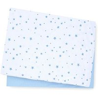 Mothercare Cotbed Fitted Sheets 2 pack - Blue